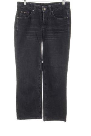 Cambio 7/8 Jeans schwarz-silberfarben Casual-Look