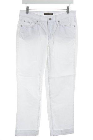"Cambio Jeans a 7/8 ""Celia"" bianco"
