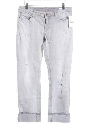 Cambio 7/8 Jeans hellgrau Casual-Look