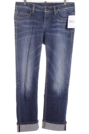 Cambio 7/8 Jeans stahlblau Casual-Look