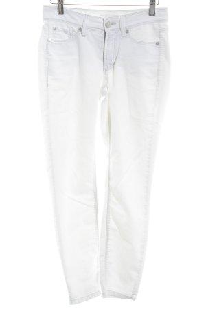 Cambio Jeans 7/8 blanc cassé style décontracté