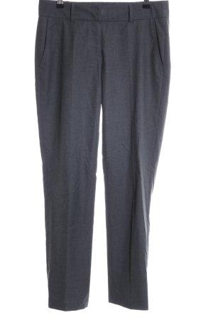 Cambio Pantalon lichtgrijs gestippeld zakelijke stijl
