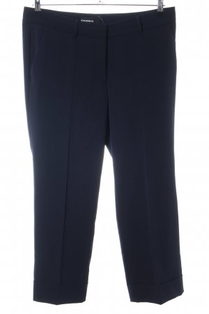 Cambio Suit Trouser blue business style
