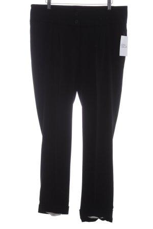 Cambio Anzughose schwarz Elegant