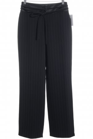 Cambio Suit Trouser black pinstripe business style