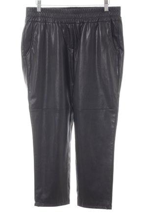 Cambio Pantalon «Baggy» noir Look de motard