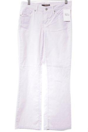 Cambio Boot Cut Jeans blasslila-silberfarben Casual-Look