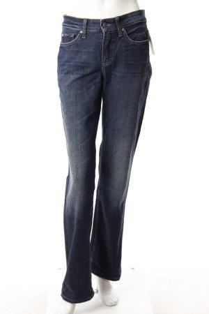 Cambio Boot Cut Jeans blau