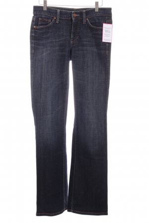 Cambio Boot Cut Jeans blau Casual-Look
