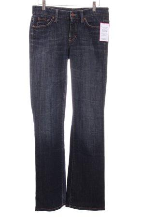 Cambio Boot Cut Jeans blau Casual-Look