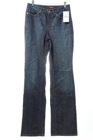 "Cambio Boot Cut Jeans ""Jade"" dunkelblau"