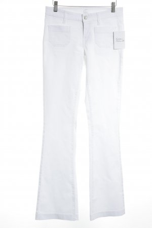 "Cambio Boot Cut Jeans ""Lola"" weiß"