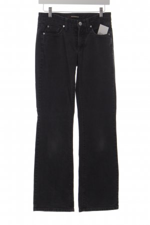 Cambio Boot Cut Jeans schwarz Casual-Look