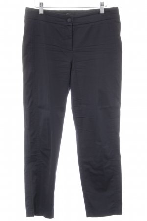 Cambio Bundfaltenhose dunkelblau Business-Look