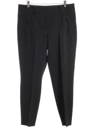 Cambio Pantalon à pinces noir style d'affaires