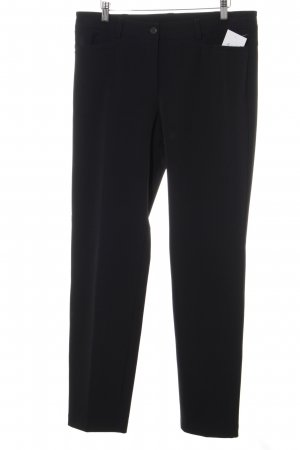 Cambio Bundfaltenhose schwarz Business-Look