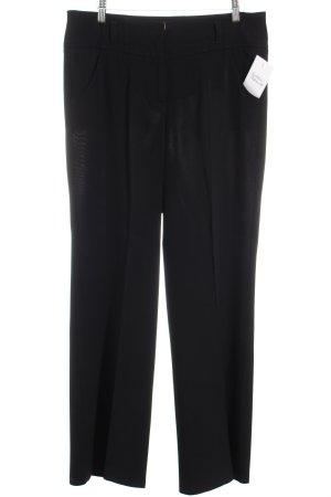 Cambio Pantalon à pinces noir style décontracté