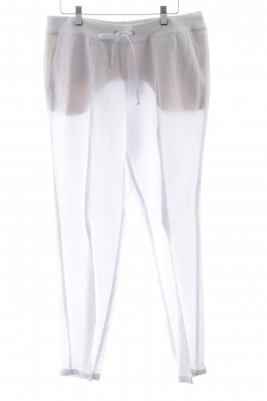 Cambio Pantalon à pinces blanc style décontracté