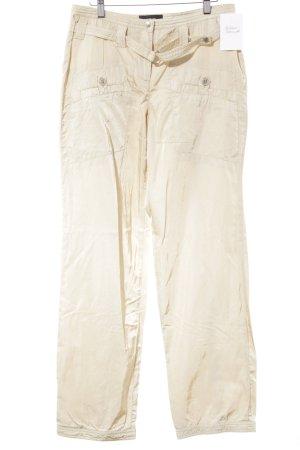 Cambio Cargohose beige Casual-Look