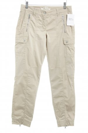 Cambio Cargohose beige Country-Look