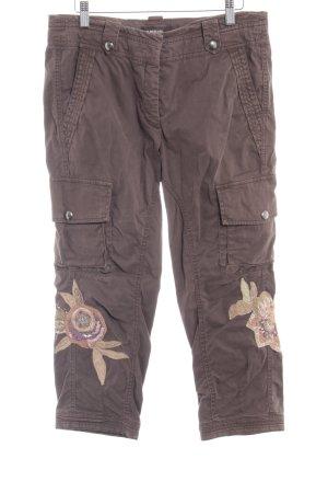 Cambio Pantalon cargo gris brun style décontracté