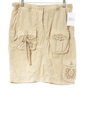Cambio Jupe cargo brun sable style décontracté