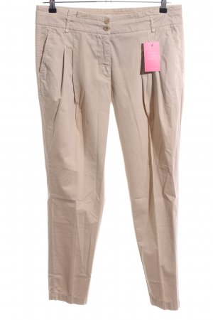 Cambio Chinohose creme Casual-Look