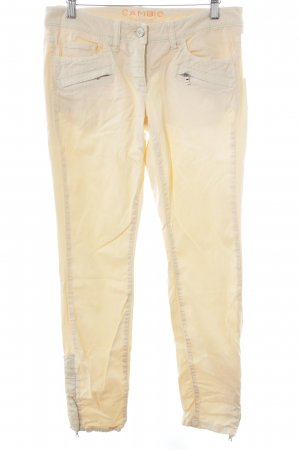 Cambio Chinohose apricot Casual-Look