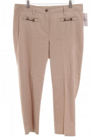 Cambio Chinohose beige Casual-Look