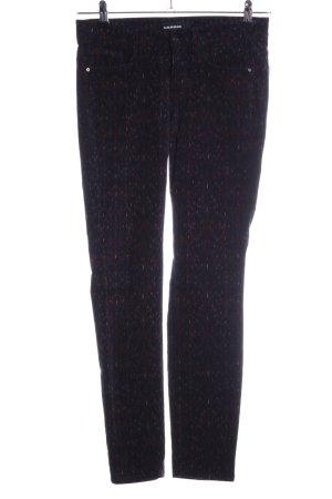 Cambio Pantalone di velluto a coste stampa integrale stile casual