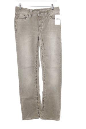 Cambio Jeans a vita alta beige-beige chiaro Colore sfumato stile casual
