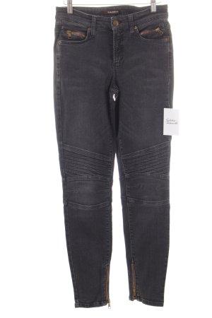 Cambio High Waist Jeans schwarz-dunkelgrau schlichter Stil