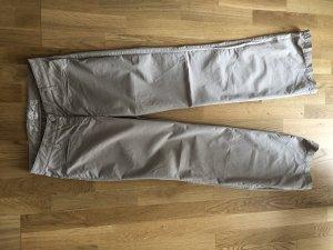 Cambio Boyfriend Trousers beige cotton