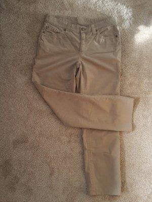 Cambio Pantalone cinque tasche sabbia-beige chiaro Cotone