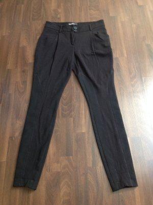 CAMBIO Hose in schwarz-schmal geschnitten - Gr.34