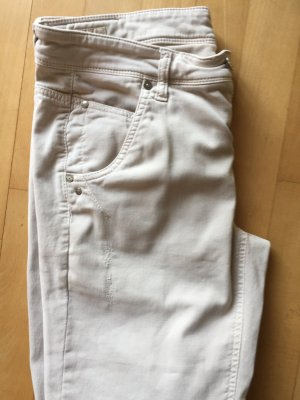 Cambio Jeans Cargo Pants oatmeal cotton