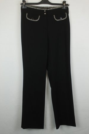Cambio Marlene Trousers black wool