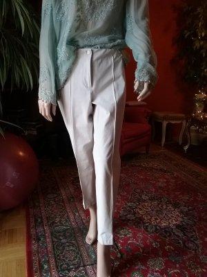 Cambio Pantalón elástico blanco puro tejido mezclado