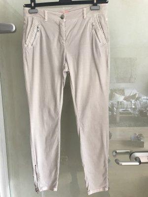 Cambio Pantalone cargo beige chiaro Tessuto misto