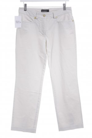 Cambio Low-Rise Trousers cream casual look