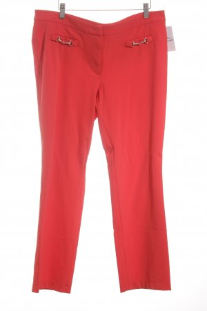Cambio Low-Rise Trousers bright red casual look