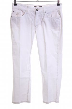 Cambio Jeans 3/4 Length Jeans white casual look