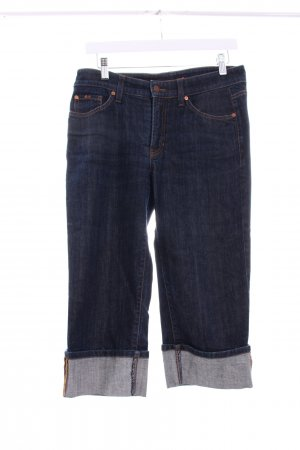 Cambio Jeans 3/4 Jeans dunkelblau Casual-Look