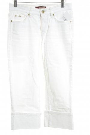 Cambio Jeans 3/4 Jeans weiß Jeans-Optik