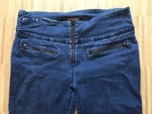 Cambio Jeans 36 blau mit Reißverschlüssen skinny