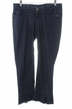Cambio Jeans 7/8 Jeans dunkelblau Casual-Look