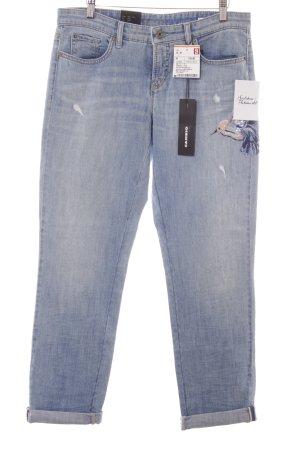 """Cambio Jeans Jeans a 7/8 """"Lili"""" azzurro"""