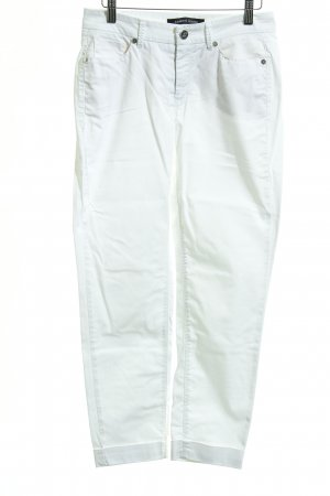 Cambio Jeans Jeans a 7/8 bianco stile casual