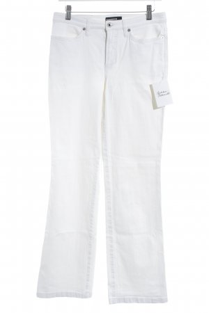 Cambio Jeans Boot Cut Jeans natural white simple style