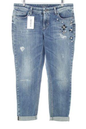 Cambio Jeans Jeans boyfriend bleu style délavé